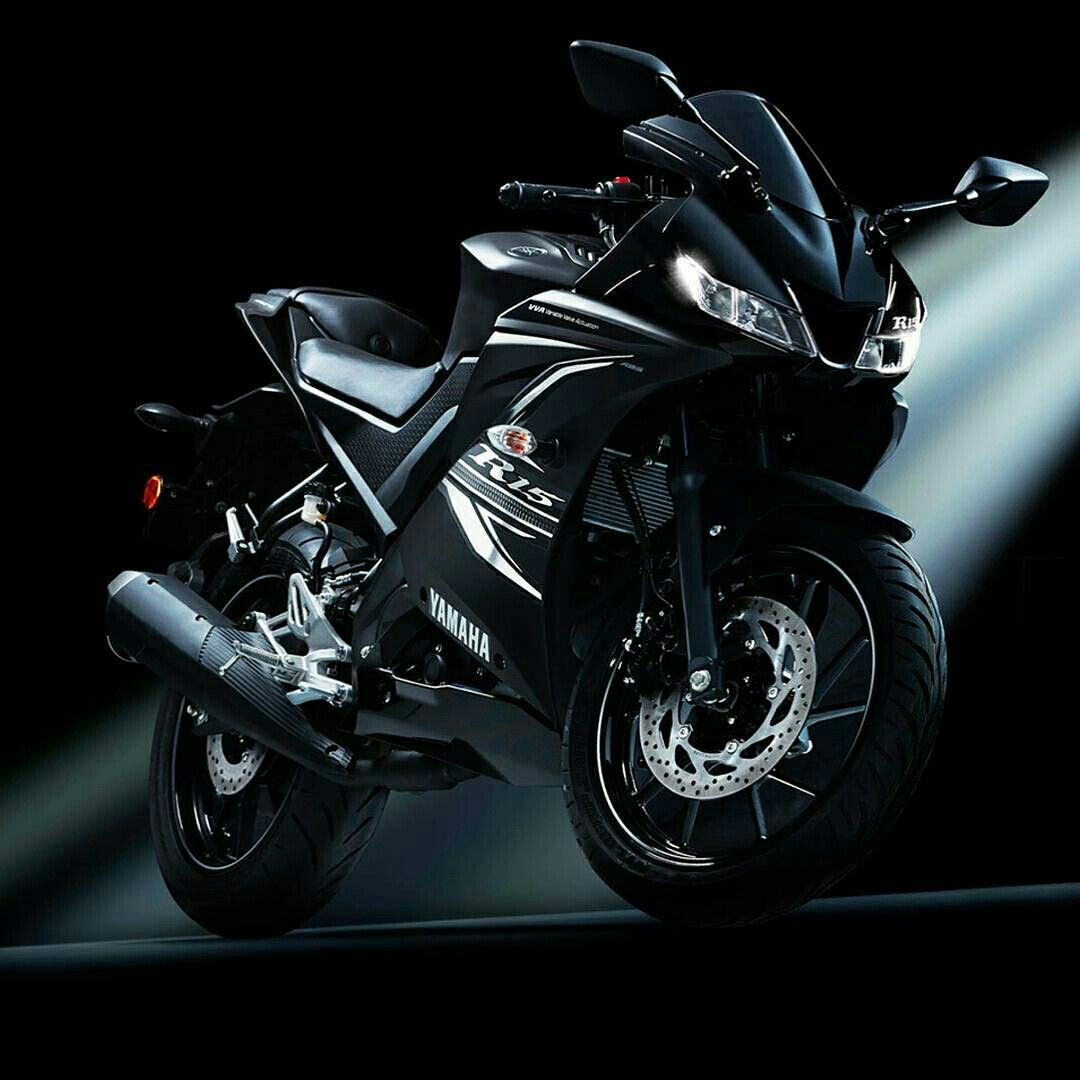 R15 Black With Images Yamaha Bikes R15 Yamaha Yamaha