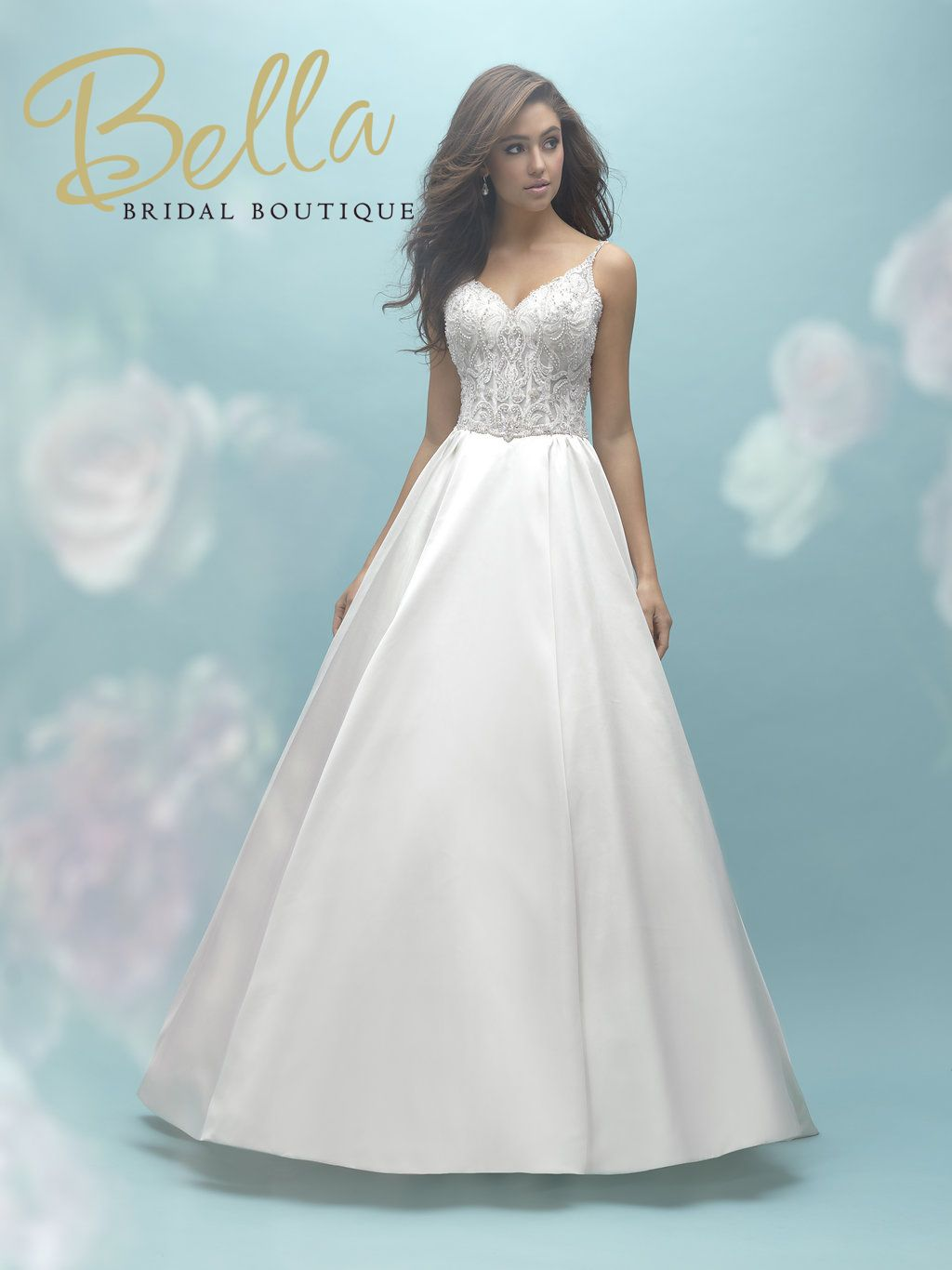 Amazing Ball Gown Wedding Dress - Available at Bella Bridal in ...