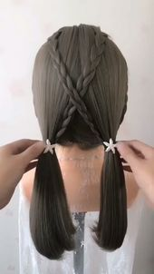 #Amazing #Braided #Hair #Tutorial Lovely hairstyle idea ✨✨