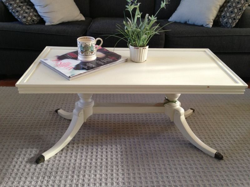 Kijiji Refinished Antique Claw Foot Coffee Table Furniture