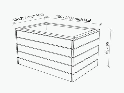 Hochbeet Masse In 2020 Hochbeet Holz Beete