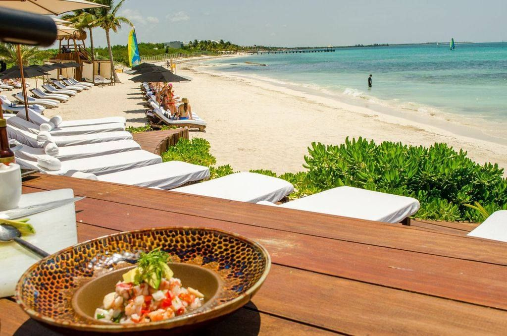 Foodie Travel at RosewoodMayakoba Sun lounger, Foodie
