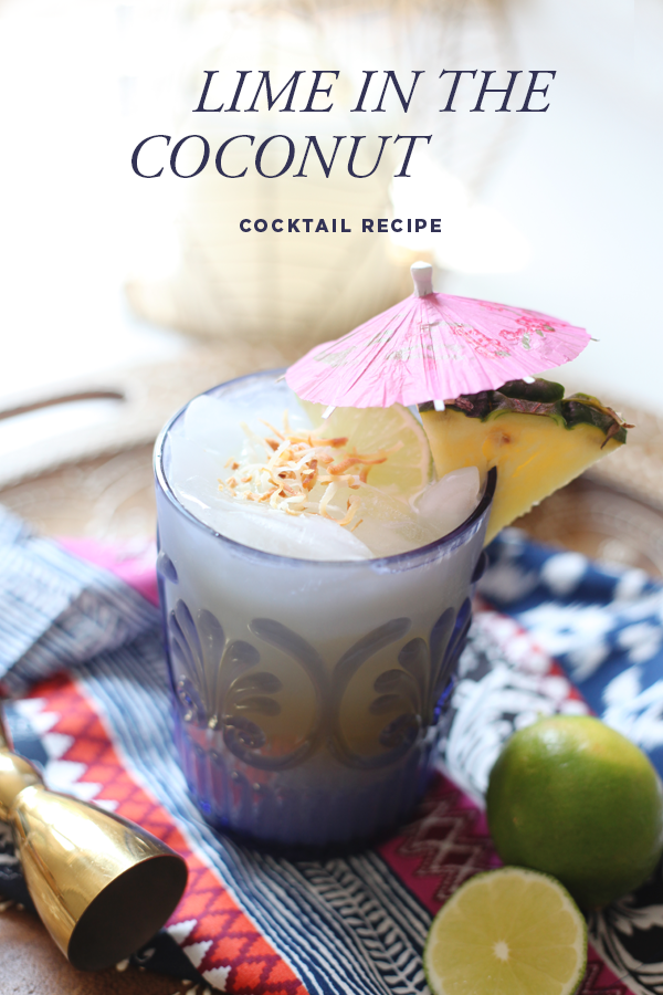 The Lime In The Coconut – Cocktail Recipe