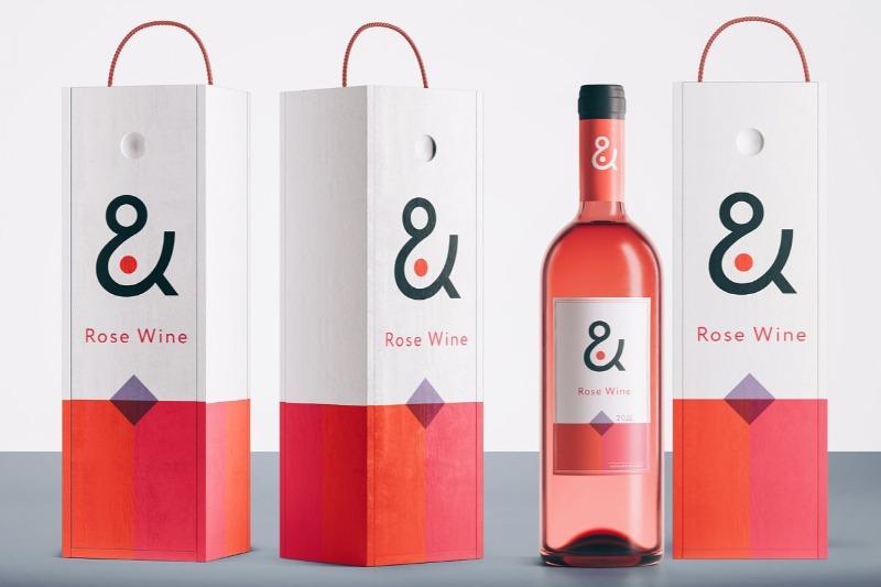 Download 15 Wine Box Mockup Packaging Psd Templates Texty Cafe Wine Bottle Packaging Wine Packaging Design Wine Box