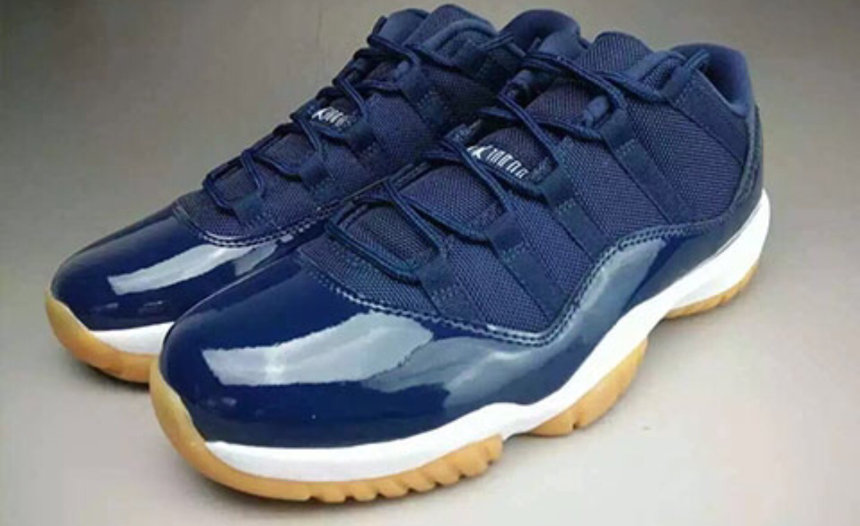 2015 Cheap Online Nike Air Jordan 11 Low Gotham Nights Custom