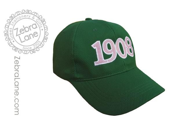 54dc8700 AKA 1908 Hat - Green | Cheryl sorority in 2019 | Alpha kappa alpha ...