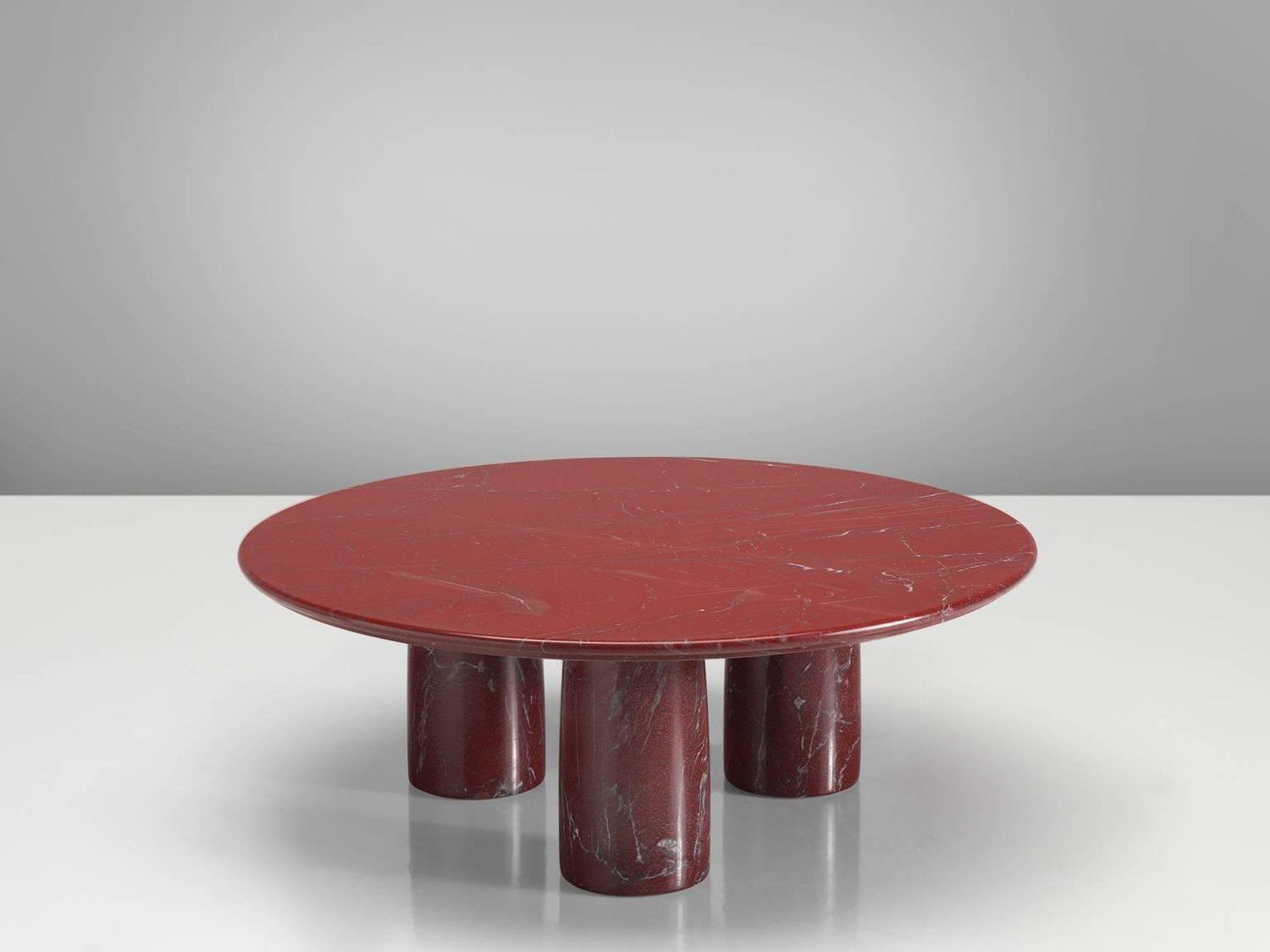 Mario Bellini For Cassina Red Limestone Side Table From A Unique Collection Of Antique And Modern Side Tables At Https Www 1stdi Cassina Side Table Bellini [ 1125 x 1500 Pixel ]