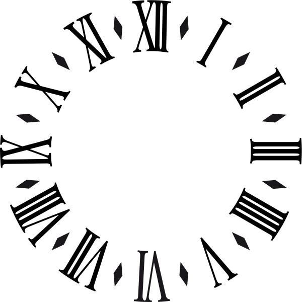 Printable Clock Face without Hands Clock Face 2 by AGF81 Clock - clock templates