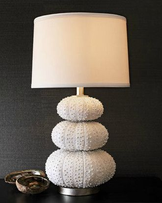 Perfect Stacked Sea Urchin Lamp Tropical Table Lamps. I WANT!