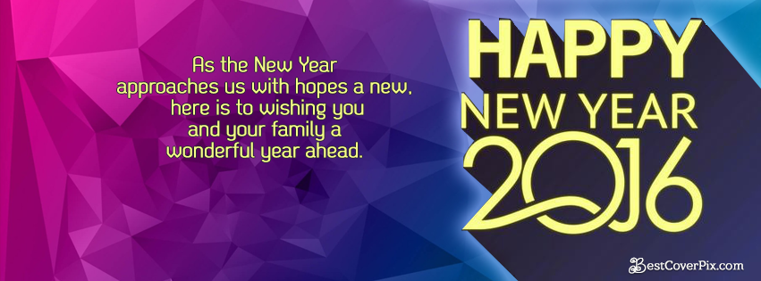 happy new year 2016 timeline quotes facebook cover photos