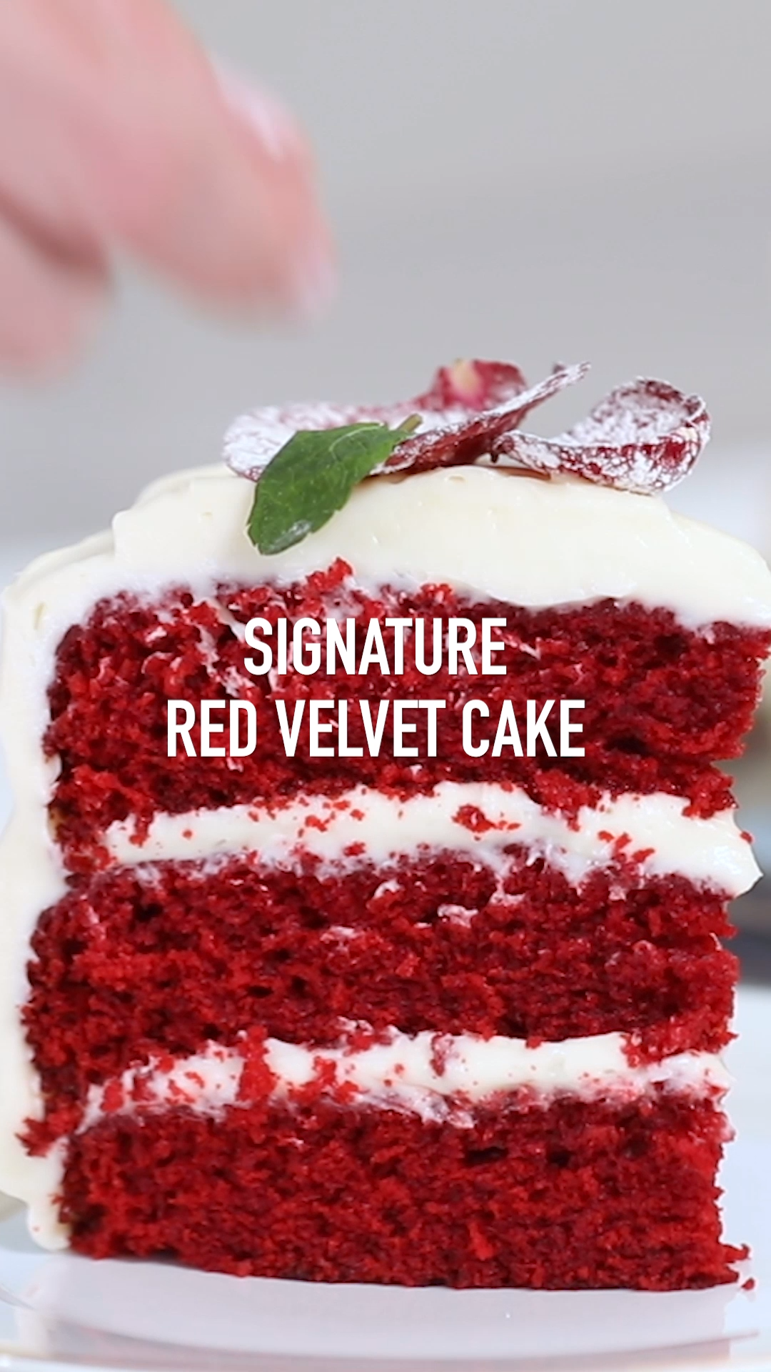 Seperate layers .mix 1.can sweet condensed milk 1.C.orange/pineapple juice 1. box jello red velvet.pock tooth pick holes in the cake and let if absorb.TOP with cream cheese frosting..
