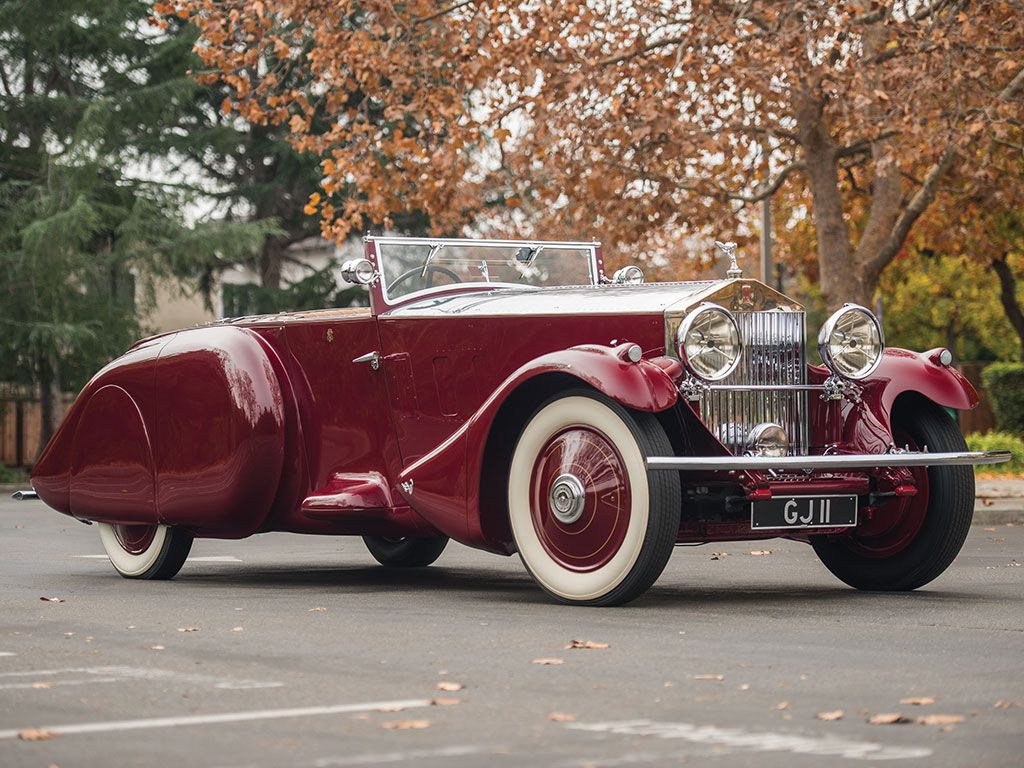 1930 Rolls-Royce Phantom II Torpedo Sports by Barker | Arizona ...