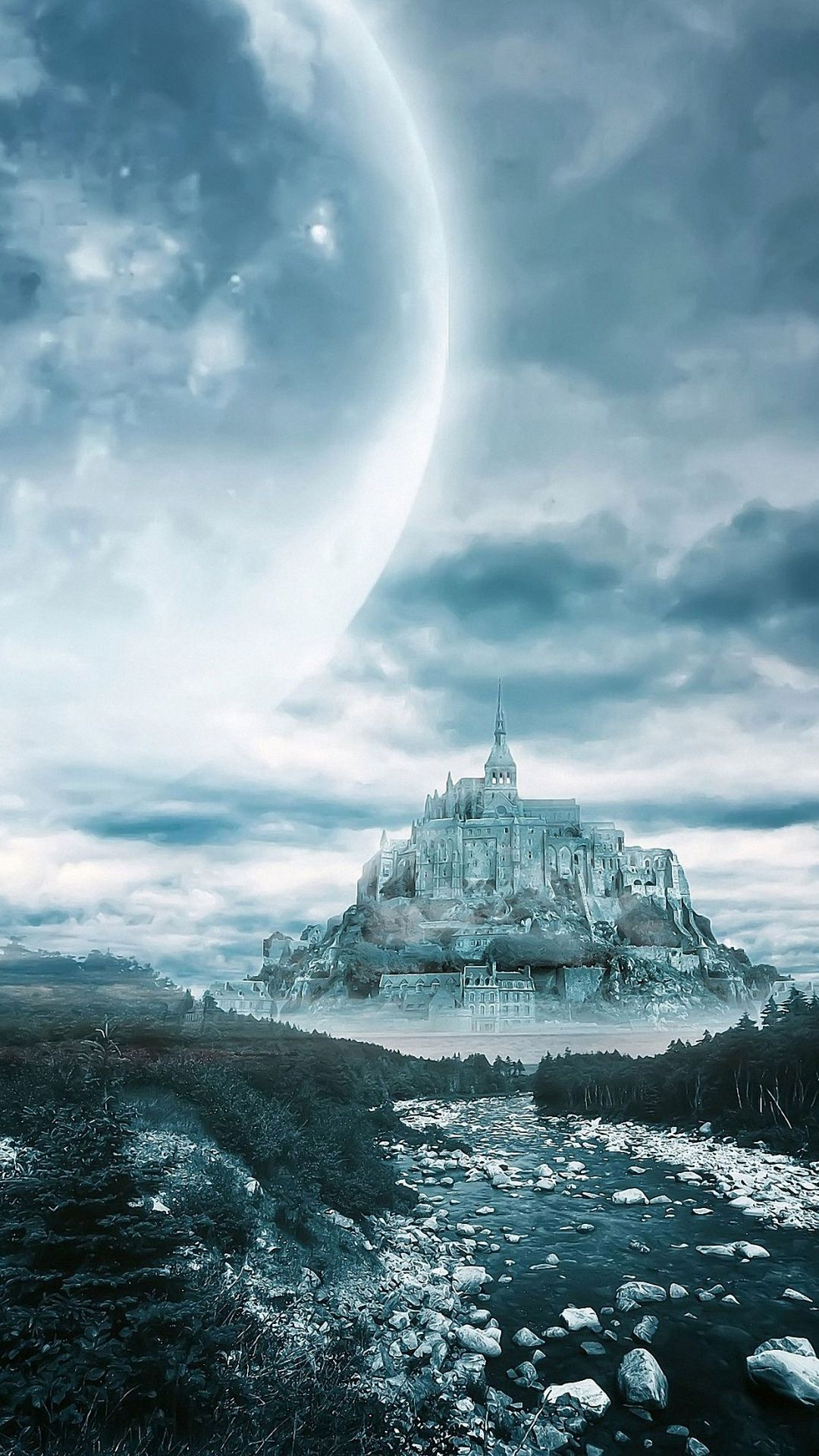 Dream Moon Castle Iphone 6 Wallpapers Hd Circuit Board Wallpaper Quality