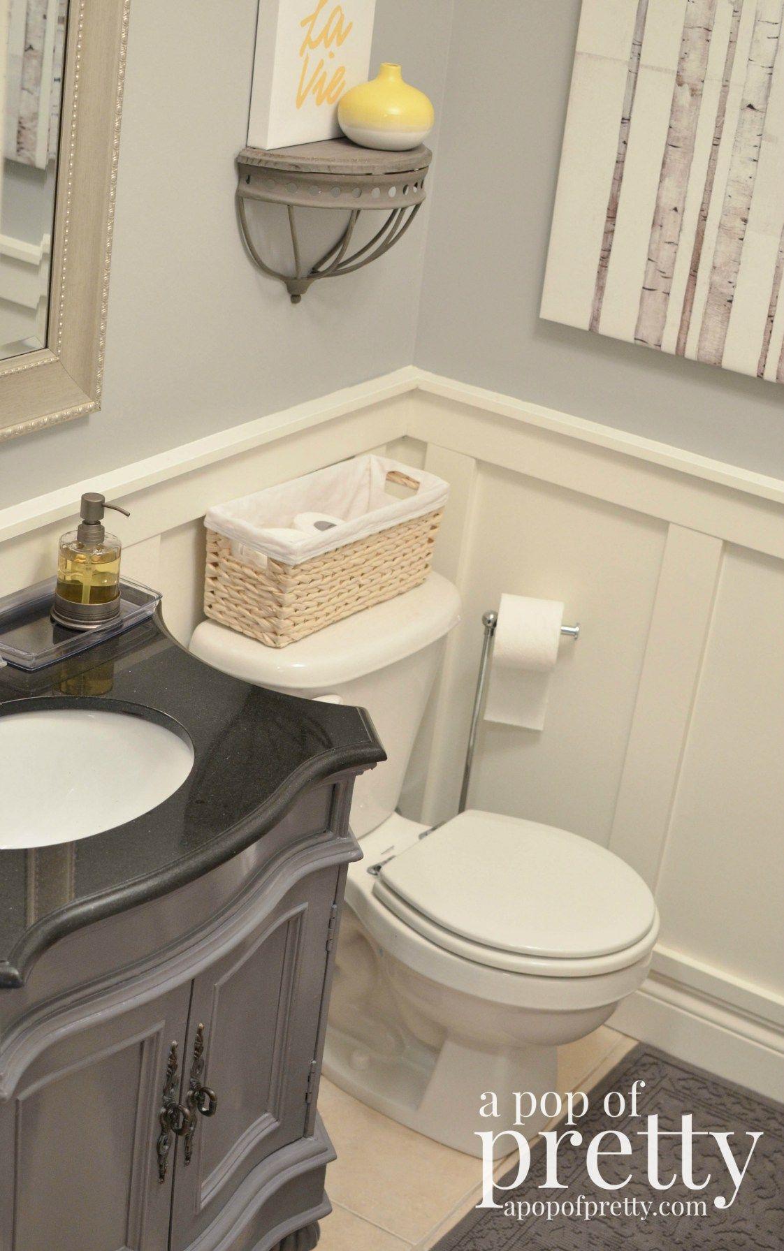 Painted Bathroom Vanity Makeover Behr Marquee  Paint Bathroom Amusing Bathroom Makeover Contest Design Ideas
