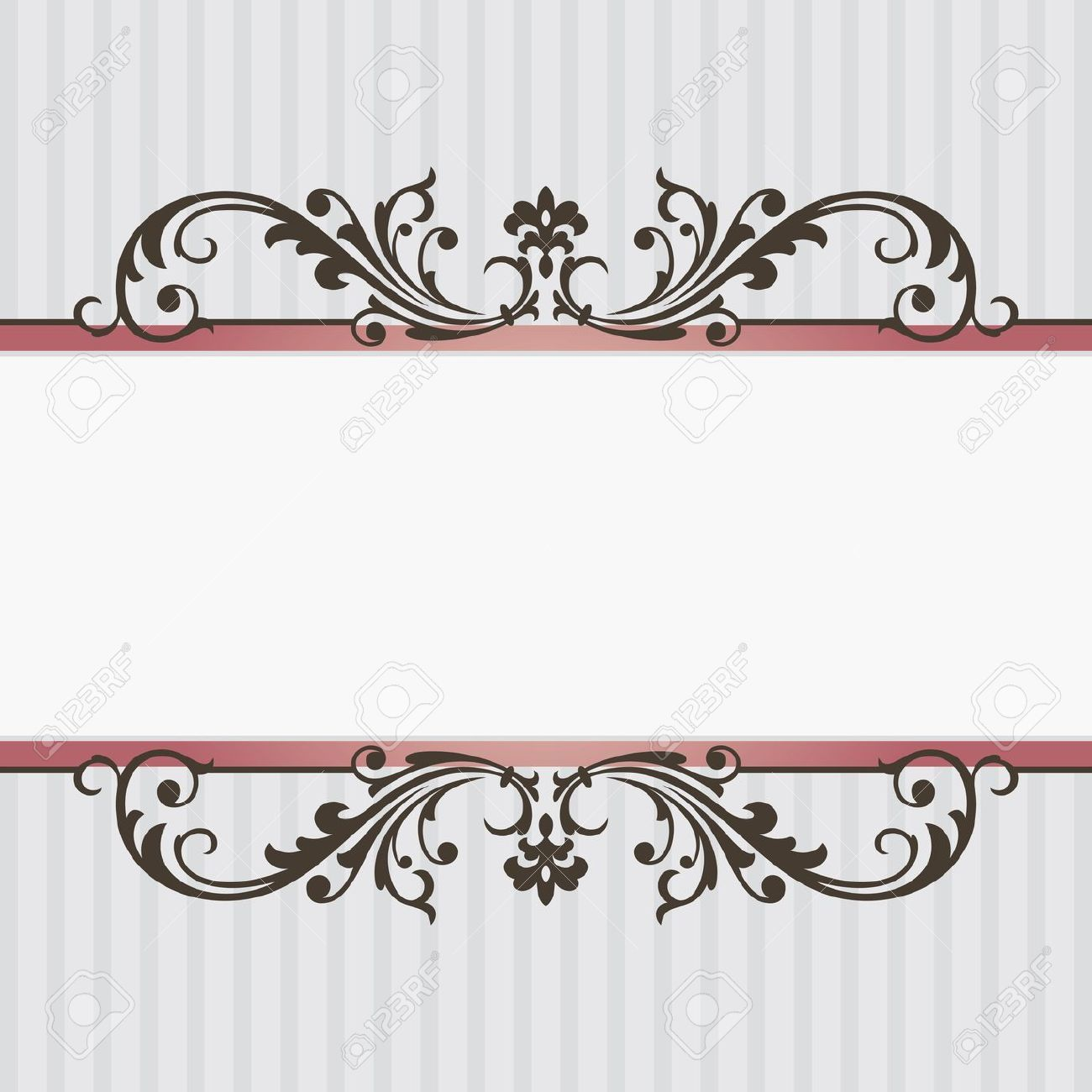 Abstract Vintage Frame Vector Illustration Royalty Free Cliparts ...