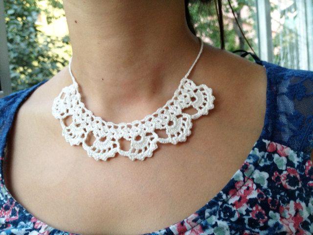 PDF Tutorial Crochet Pattern Lace Jewelry von accessoriesbynez ...