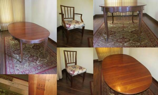 Attirant Willett Furniture..cherry Dining Table And Chairs From Pekin,IL Craigslist