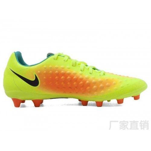 Botas de fútbol Nike Magista Onda II AG Amarillo Naranja Negro 2d6a835d8ac4f