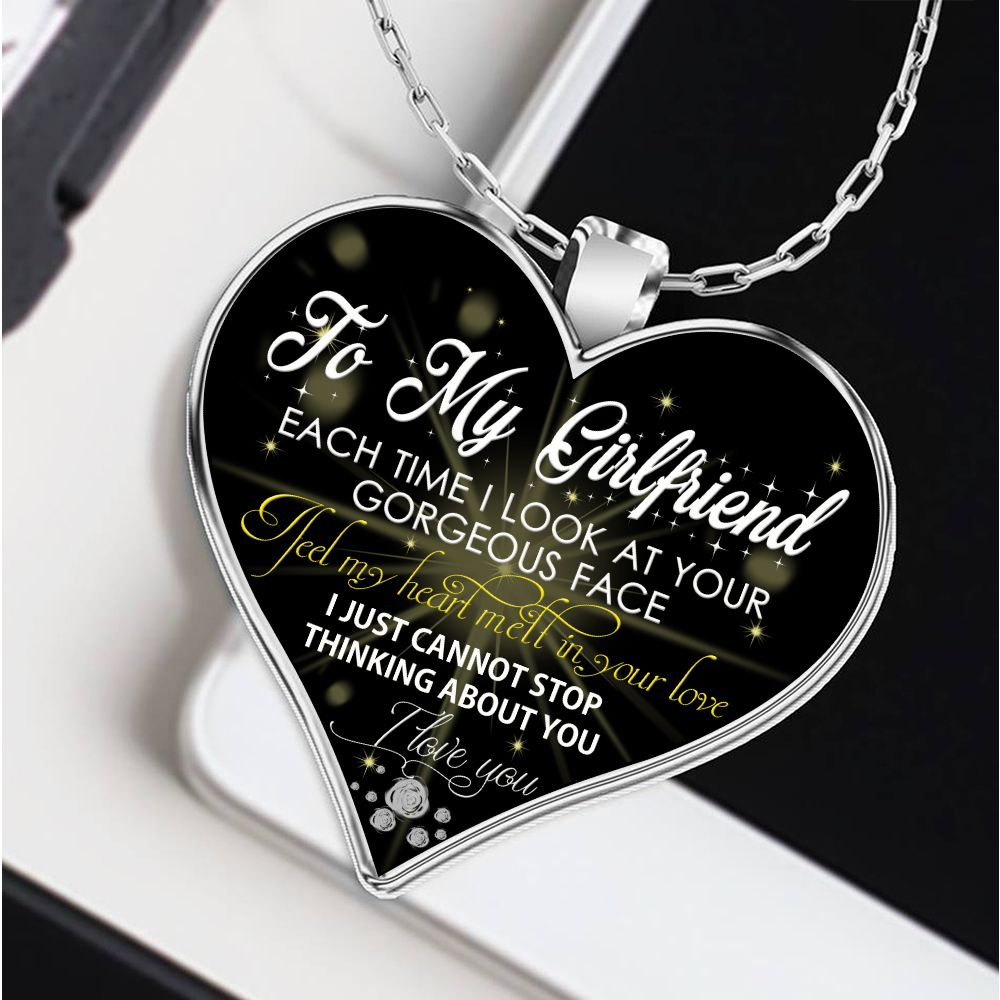 to my girlfriend necklace, girlfriend necklace,boyfriend ...