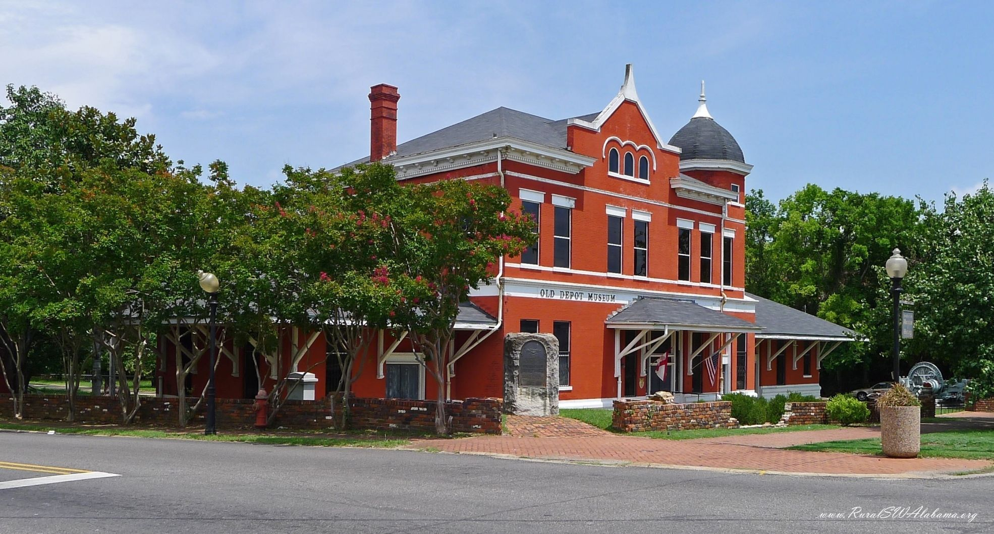 Old Depot Museum At Selma Al Building Built Ca 1890 Listed On The Nrhp Ruralswalabama Sweet Home Alabama Selma Selma Alabama