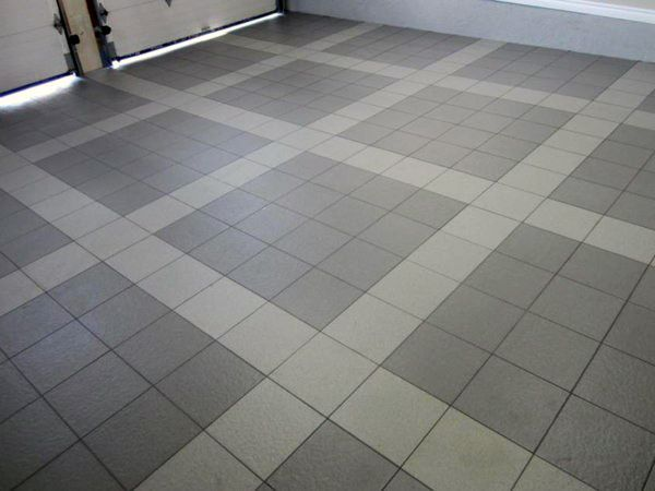 90 Garage Flooring Ideas For Men Paint Tiles And Epoxy Coatings Garage Floor Garage Tile Garage Floor Tiles