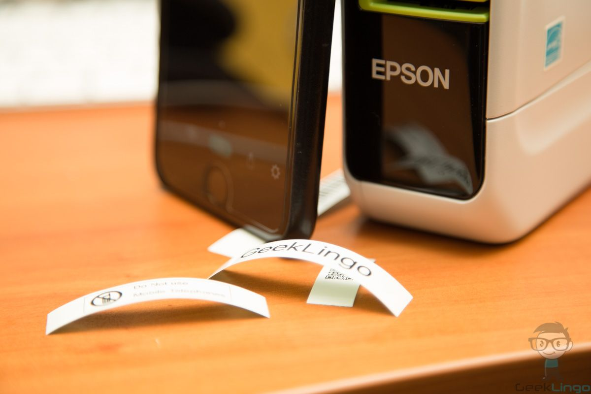 Epson LabelWorks LW600P Label Printer Reviewed