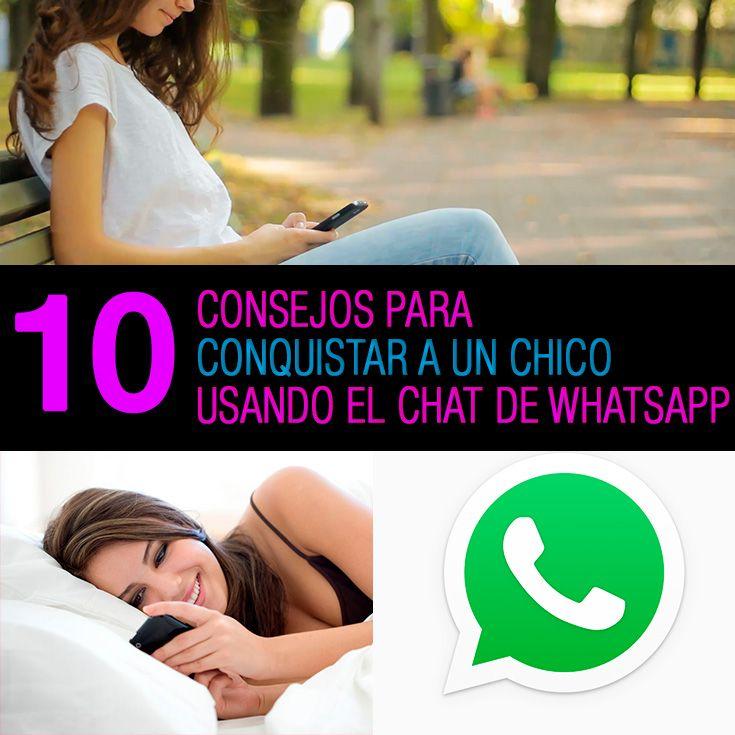 Cómo Enamorar A Un Chico Por Whatsapp 10 Consejos Para Conquistarlo Las Relaciones En La Actualidad Inician Por Lo General En E Benavidez Tips Relationship