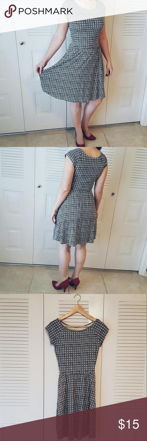 Windowpane uniqlo dress with builtin bra pinterest uniqlo