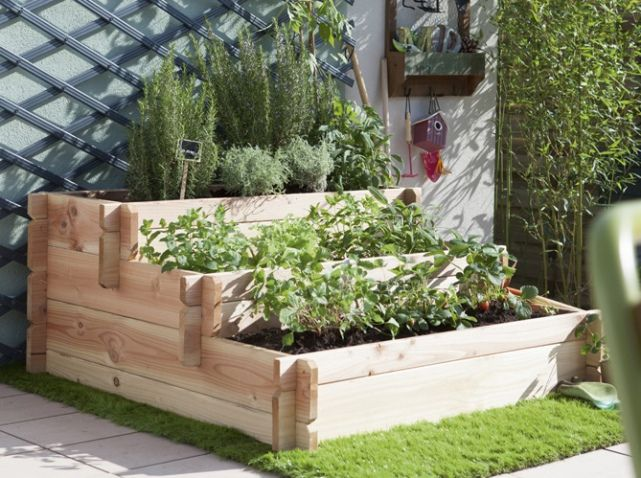 petits potagers 16 solutions faciles diy stuff or. Black Bedroom Furniture Sets. Home Design Ideas