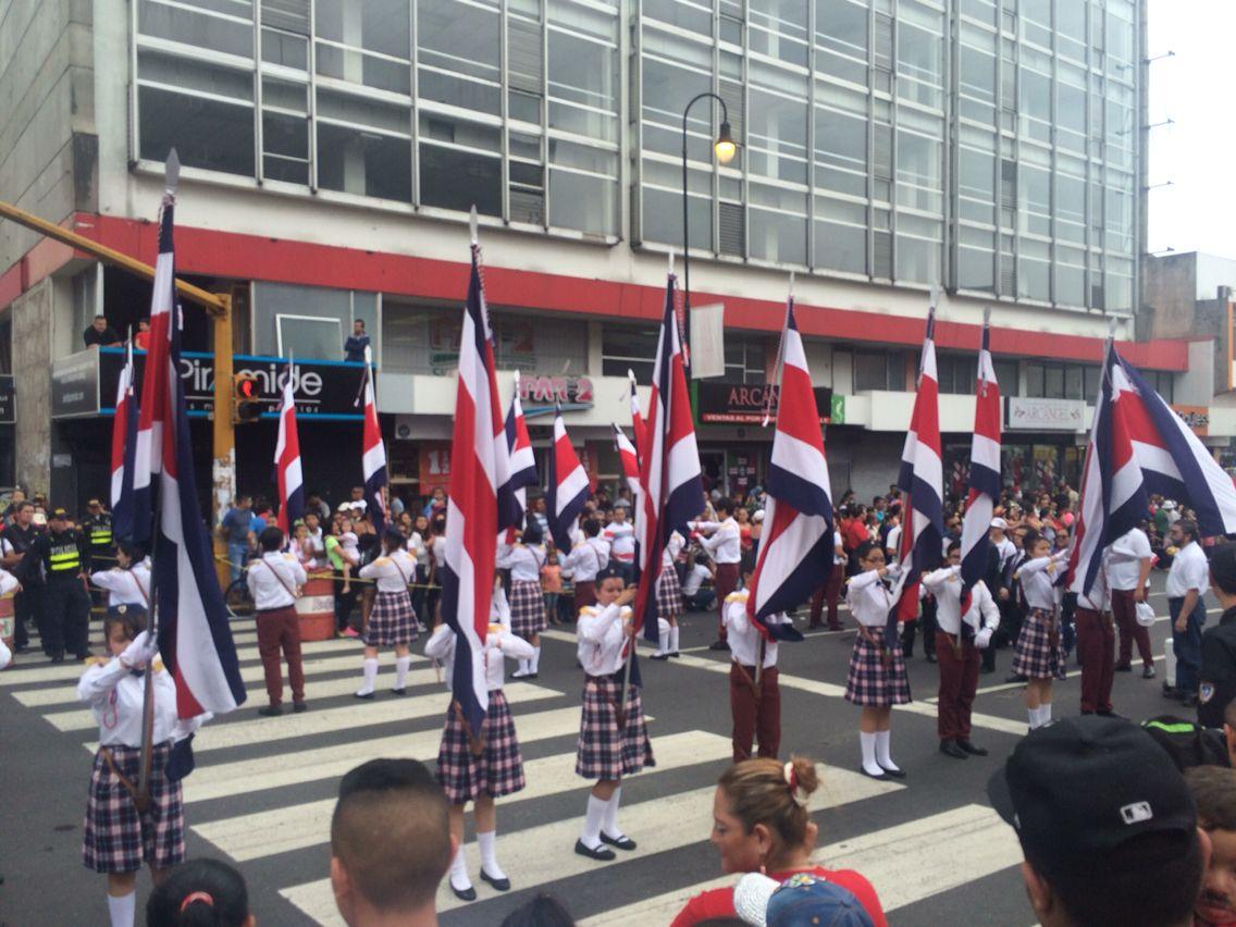 Independence day parade san jose costa rica www