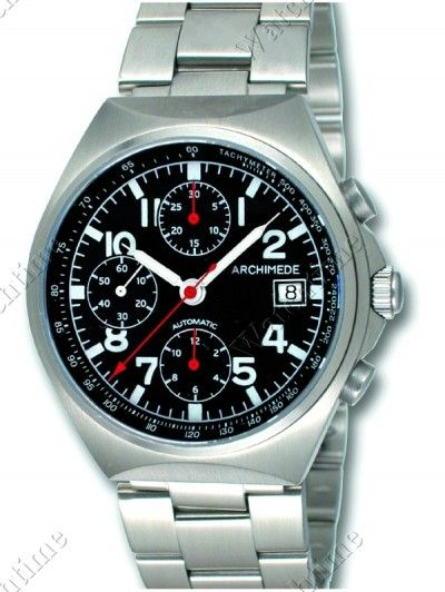Archimede | Outdoor Sport Chrono | Steel | Watch database watchtime.com  $1,063