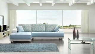 Modern Baby Blue Leather Sectional Sofa Modern Sectional Sofas By Eurolux Furniture Modern Leather Sectional Sofas Blue Leather Sofa Best Leather Sofa