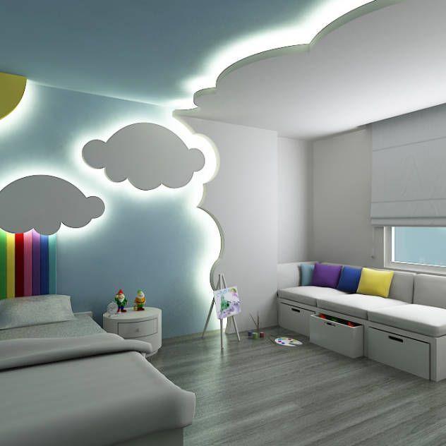 Dormitorios infantiles ideas dise os e im genes en 2019 decoraci n pinterest - Dormitorios infantiles modernos ...