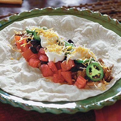 Crock Pot Easy Burritos