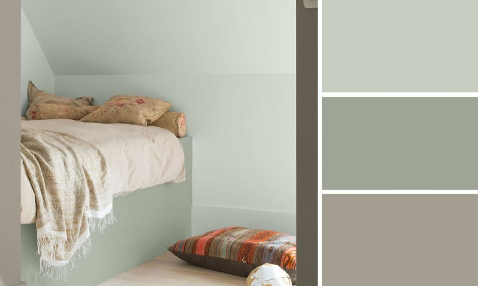 Quelle couleur de peinture pour une chambre entr es et for Peinture chambre ado tendance