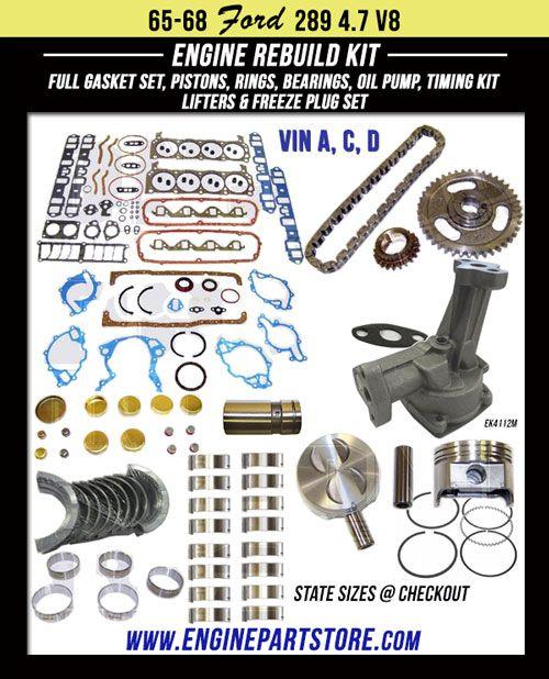 Pin On Engine Rebuild Kits Import Domestic