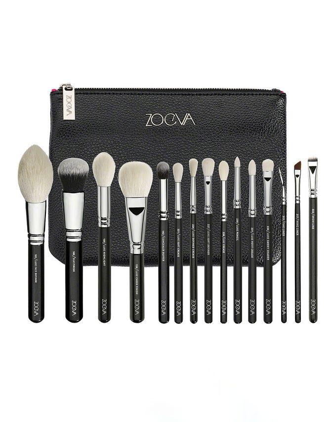 Luxe Complete Professional Brush Set by ZOEVA Jeu de