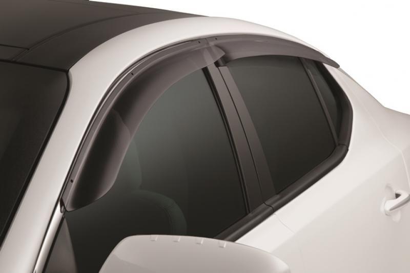 Rear View Mirror Visor Shield Rain Snow Guard For Kia Optima MK3 2011-2015