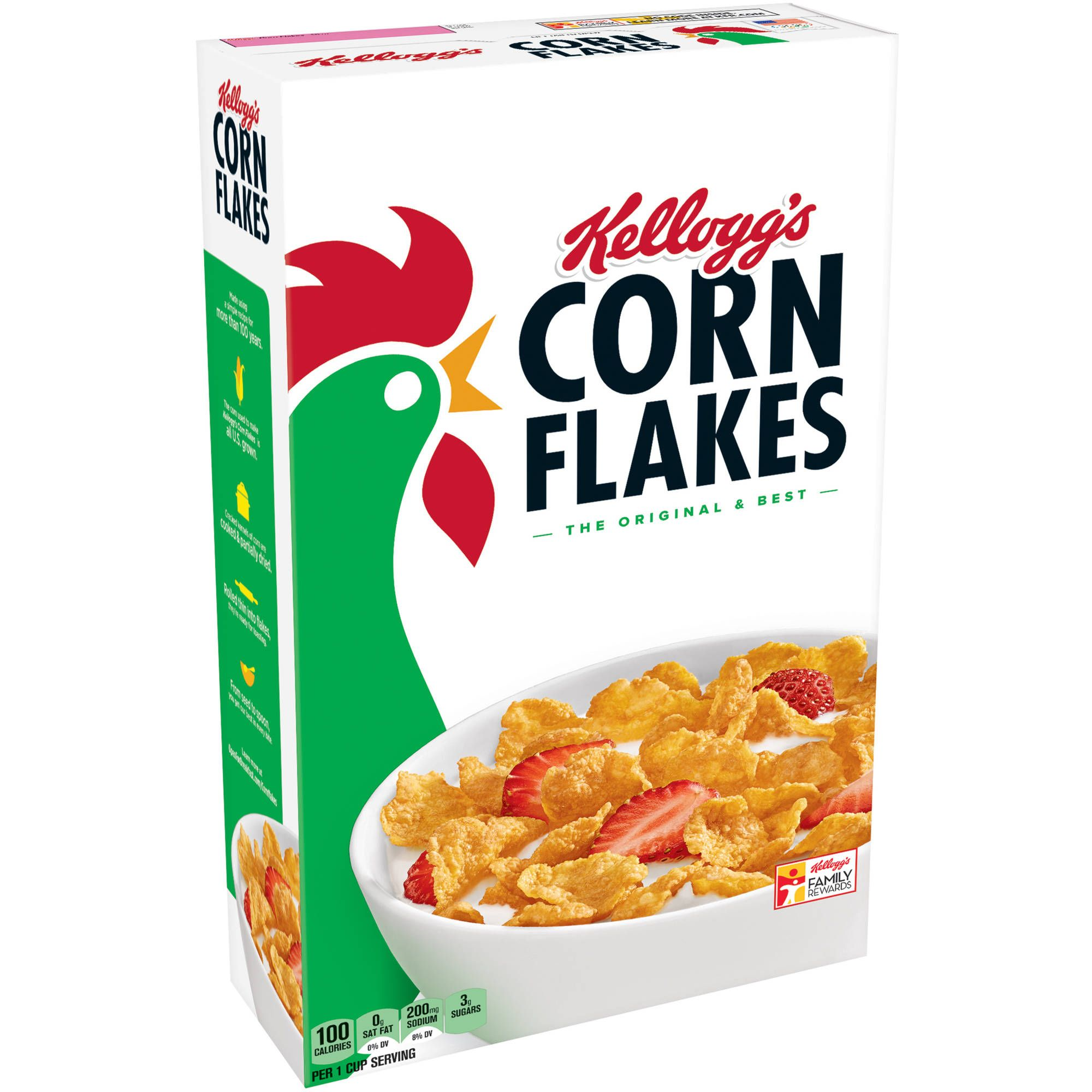 Corn Flakes Cereal Calories