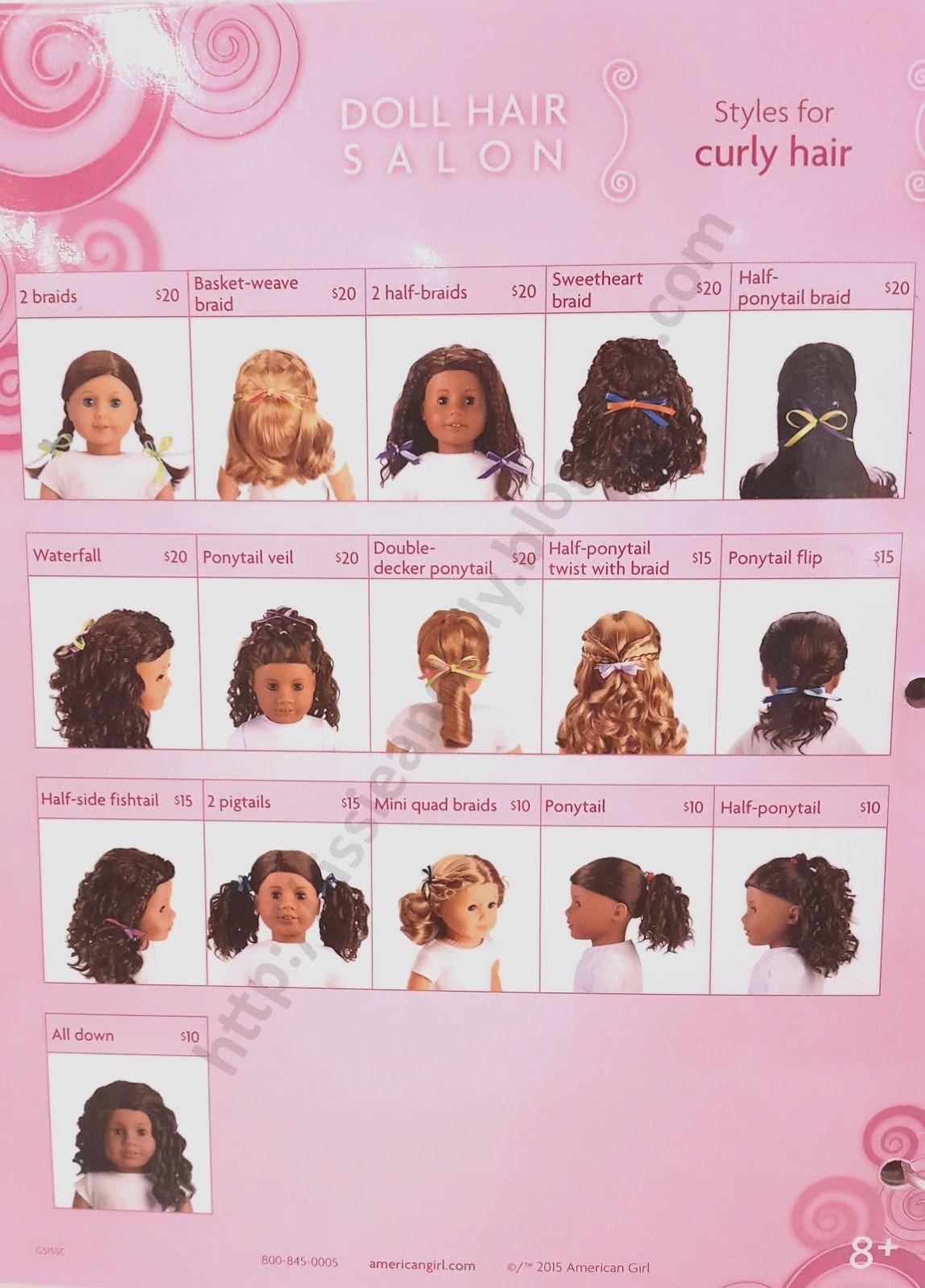 Hairstyles for short hair american girl dolls american girl hair