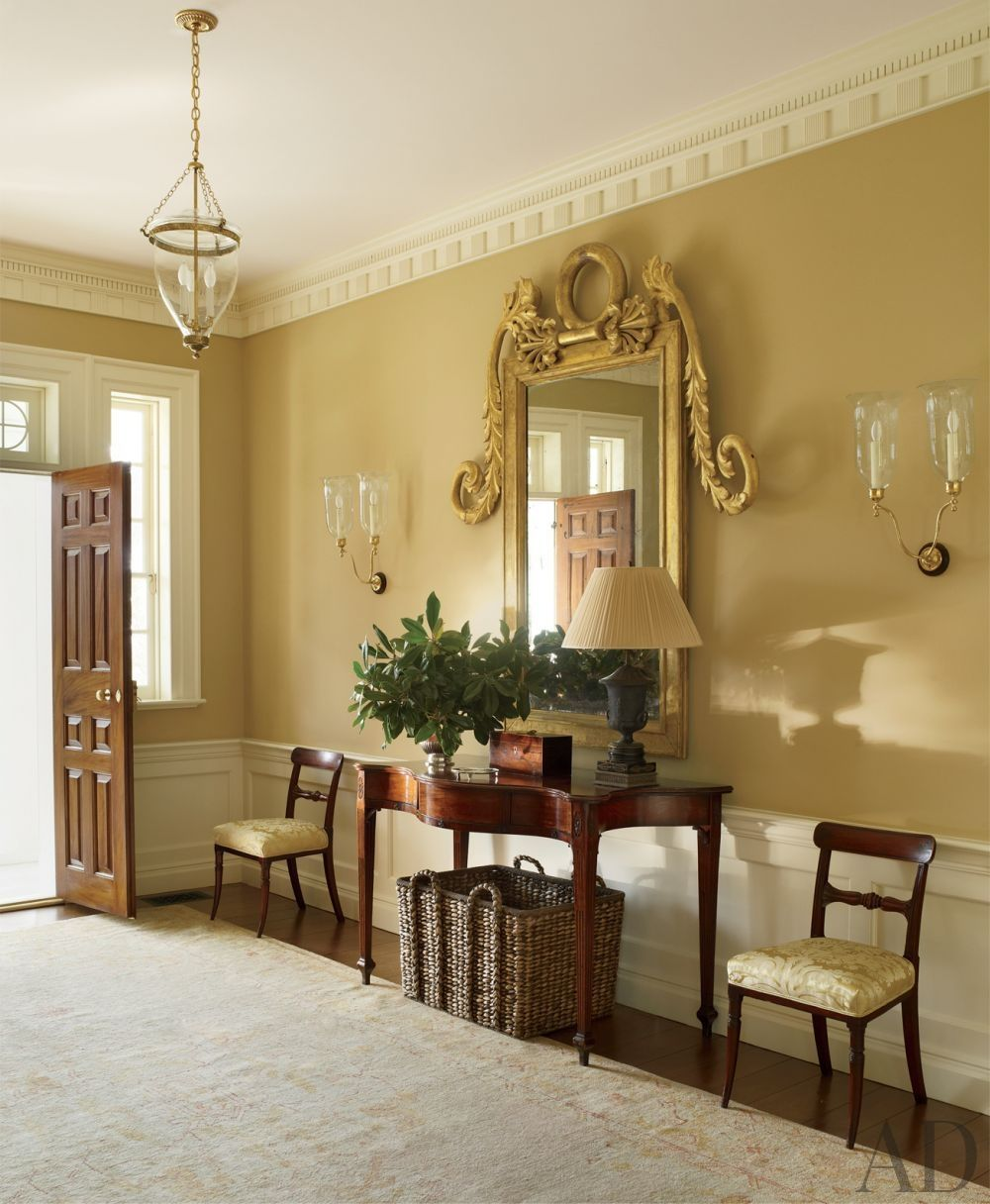 Entrance Hall Or Foyer : Traditional entrance hall by amelia t handegan inc and