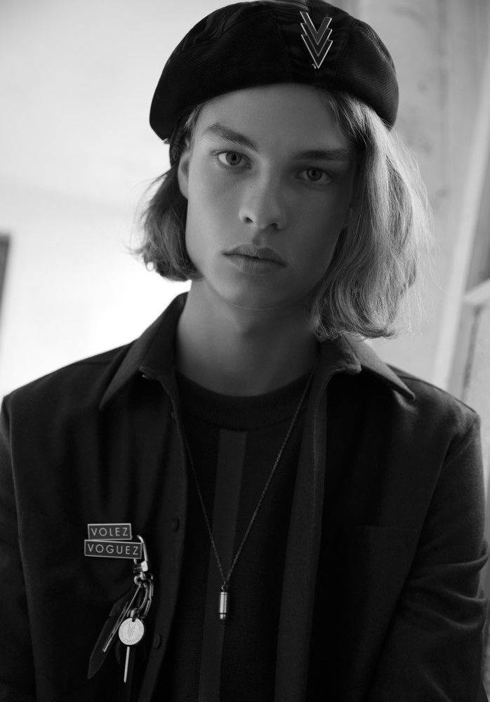 Jack Mather photographed by Rama Lee for Vanity Teen Autumn/Winter 2016