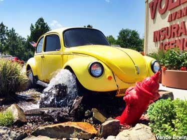 Joplin Mo Volkswagen Beetle Hydrant Crash Volkswagen Beetle Beetle Volkswagen