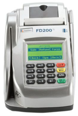 Telecheck Machine Fd200 Ti With Thermal Printer Ip Internet Port Connection With Internal Pin Pad Cre Credit Card Readers Credit Card Machine Thermal Printer