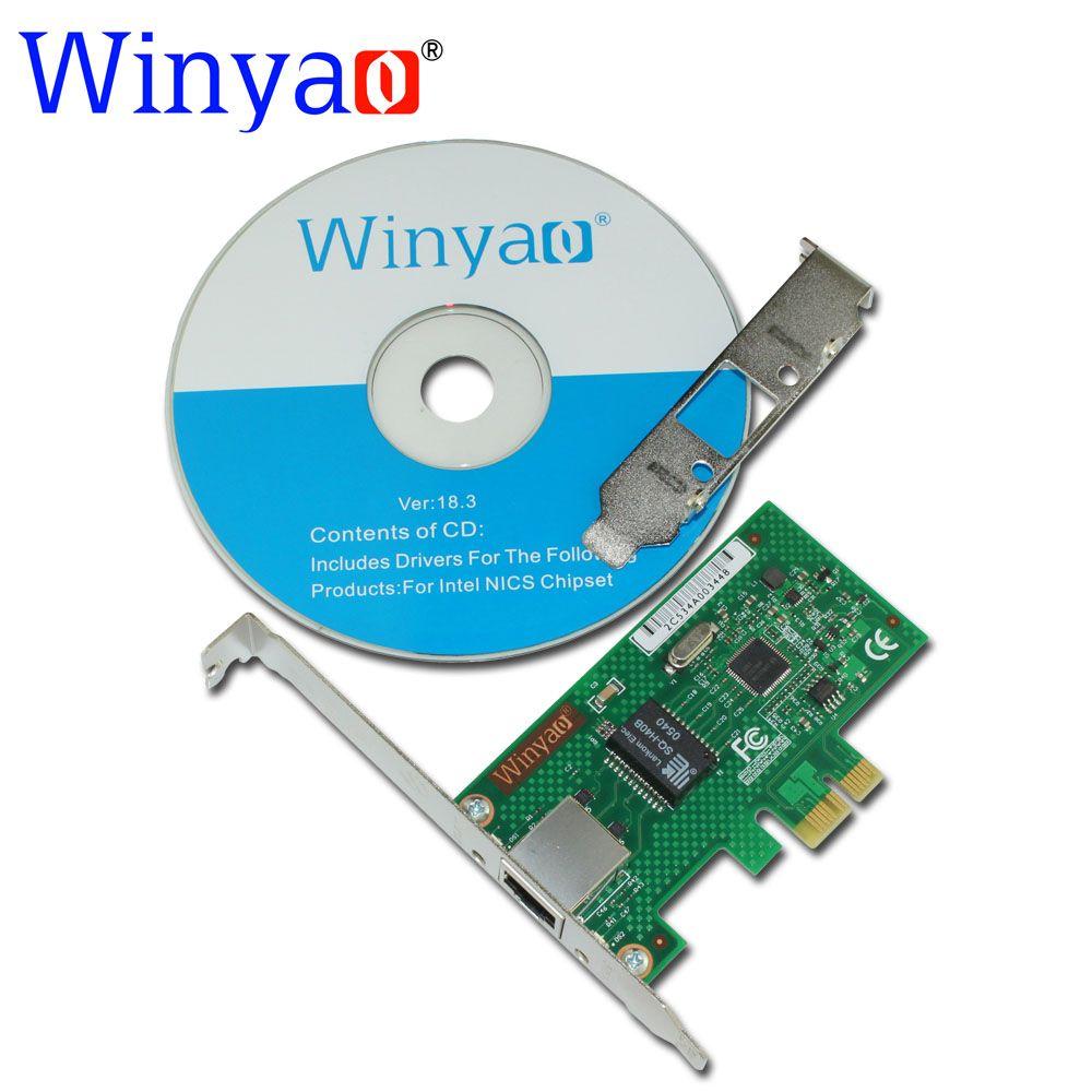 Winyao WYI210T1 PCI-E X1 Gigabit Ethernet Network Card(NIC
