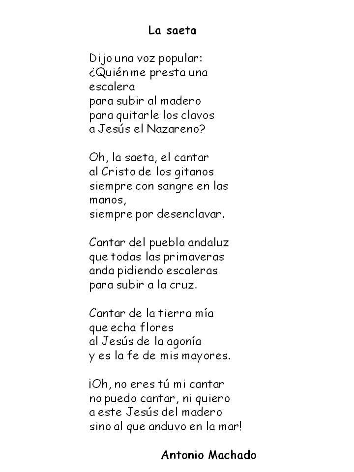 La Saeta Es Parte De Campos De Castilla 1912 Vemos Algo Característico De Dicho Libro La Reflexión Sobre España Y Sus Fallo Machado Math Math Equations
