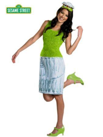 Oscar The Grouch Costume | Wholesale Women Halloween ... - photo#42