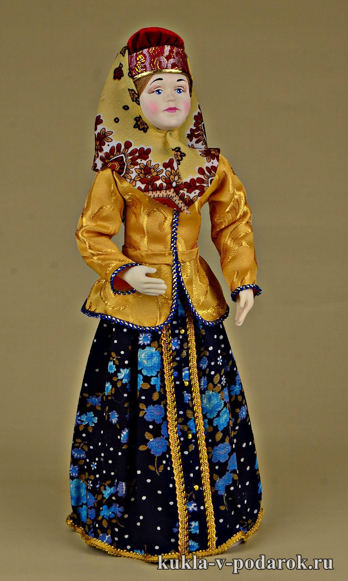 Кукла в вологодском национальном костюме. Ручная работа ...