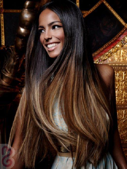 Hair Color On Dark Skin Women Photo Hair Pinterest Hair