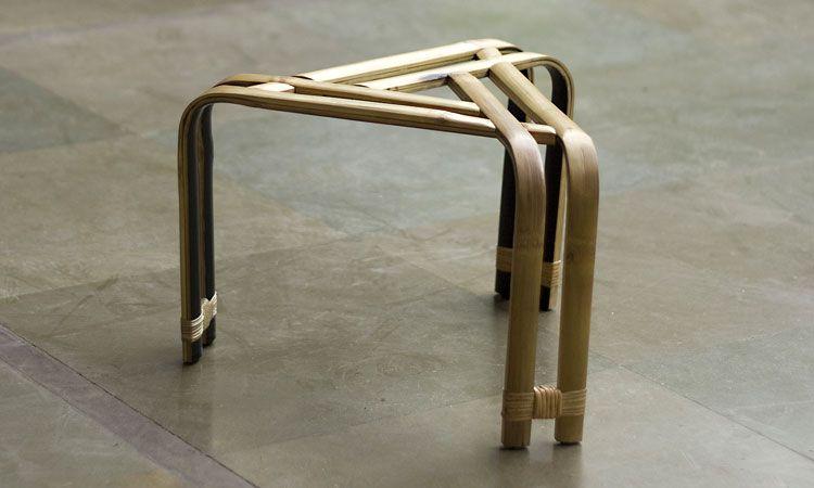 Bamboo Stool Young Designers Furniture Design